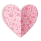 Greeting card for Valentines day. Stock Images