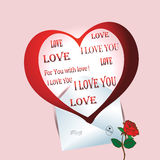 Greeting Card Valentines Day Stock Images