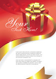 Greeting card vector Stock Image