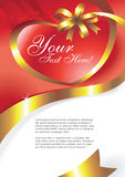 Greeting card vector Royalty Free Stock Photography