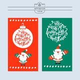 Greeting card, vector illustration. With the new year. Hand draw. N vector illustration