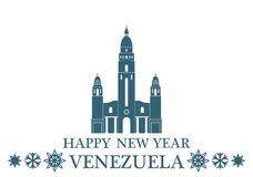 Greeting Card Venezuela Stock Images