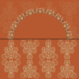 Greeting card. Vintage greeting card  with place for your text Royalty Free Stock Images