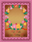 Greeting Card - Wedding Royalty Free Stock Images