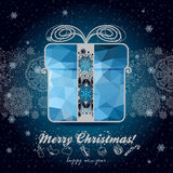 Greeting card with winter holidays for your design Royalty Free Stock Image