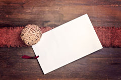 Greeting Card With Space For Text Royalty Free Stock Photo