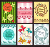 Greeting cards Stock Image