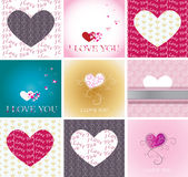 Greeting cards Royalty Free Stock Images