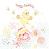 Greeting cards birthday Stock Photography