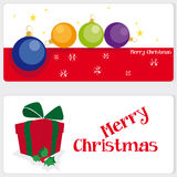 Greeting cards for Christmas Stock Photo