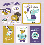 Greeting cards Royalty Free Stock Photos