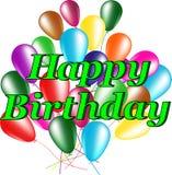 Greeting cards happy Birthday Stock Image