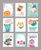 Greeting cards Royalty Free Stock Photo