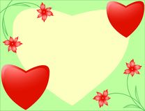 Greeting cards for Valentine's Day Royalty Free Stock Photo