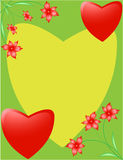 Greeting cards for Valentine's Day Royalty Free Stock Photography