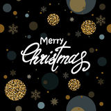 Greeting Christmas background Royalty Free Stock Images