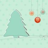 Greeting Christmas background Royalty Free Stock Photo