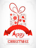 Greeting Christmas Card. Royalty Free Stock Image