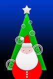 Greeting christmas card Royalty Free Stock Image