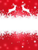 Greeting Christmas card Royalty Free Stock Images