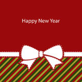 Greeting christmas card, happy new year Royalty Free Stock Images