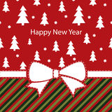 Greeting christmas card, happy new year Stock Photo