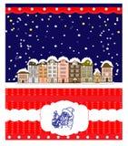 Greeting Christmas card, humor Stock Photography