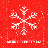 Greeting Christmas card Stock Photo