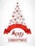 Greeting christmas card. Stock Photography