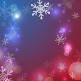 Greeting christmas frame Royalty Free Stock Images