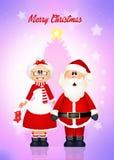 Greeting Christmas Stock Image