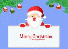 Greeting Christmas and New Yea Stock Images