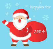 Greeting Christmas and New Yea Royalty Free Stock Image