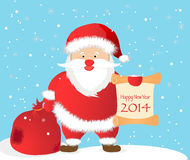 Greeting Christmas and New Yea Royalty Free Stock Photos