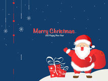 Greeting Christmas and New Yea Stock Photography