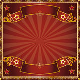 Greeting circus Royalty Free Stock Images
