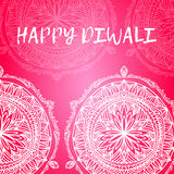 Greeting design card for Hindu community festival Happy diwali background illustration Royalty Free Stock Photos