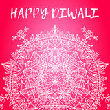 Greeting design card for Hindu community festival Happy diwali background illustration Stock Photo