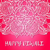 Greeting design card for Hindu community festival Happy diwali background illustration Royalty Free Stock Photography
