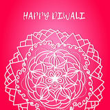 Greeting design card for Hindu community festival Happy diwali background illustration Stock Photos