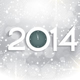 2014 greeting design. Vector 2014 creative greeting design Stock Illustration