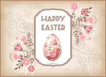 Greeting Easter card Royalty Free Stock Images