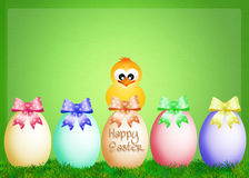 Greeting Easter Royalty Free Stock Photo