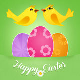 Greeting Easter Stock Photo