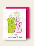 Happy Mothers Day celebration. Royalty Free Stock Photos