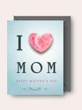 Happy Mothers Day celebration. Stock Image