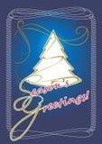 Greeting the Holiday Season Stock Image