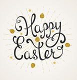 Greeting inscription for Easter Royalty Free Stock Photography