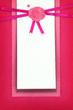 Greeting or invitation card Royalty Free Stock Photos