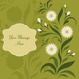 Greeting/invitation card Royalty Free Stock Images